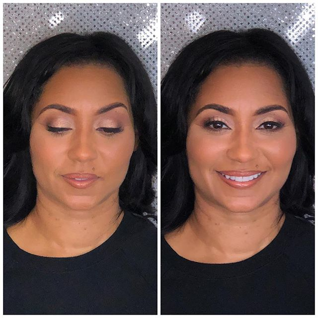 Had the pleasure of glamming the beautiful Tiffany Rogers! Thank you _totalaccounting for the referr