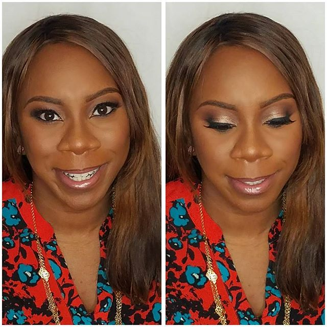 Such a pleasure glamming this beauty.  Thank you _delvinandkeisha for stopping by