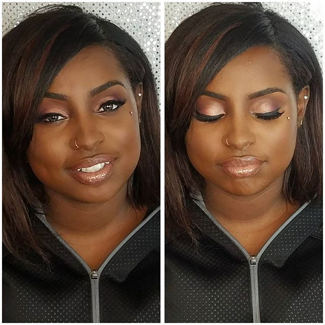 Just another gorgeous beauty from this past weekend! Had to glam to beauty for her bday!! Loved her