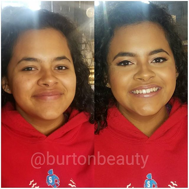 Some soft glam for another beautiful highschool senior. I love when I chat with clients about makeup