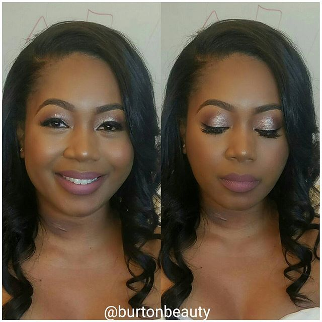 More up close and personal with my bride from this weekend _#burtonbeauty #seattlemua #seattlemakeup
