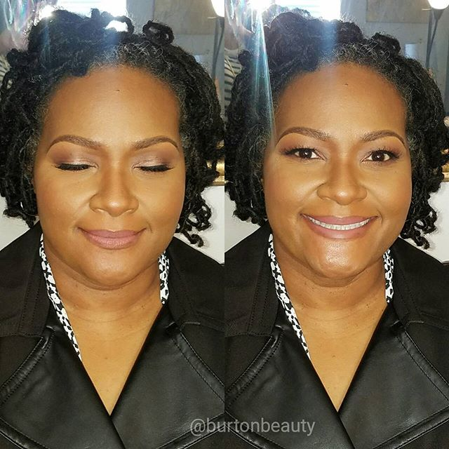 So I had the pleasure of beautifying the beautiful Dr. Kimberly harden