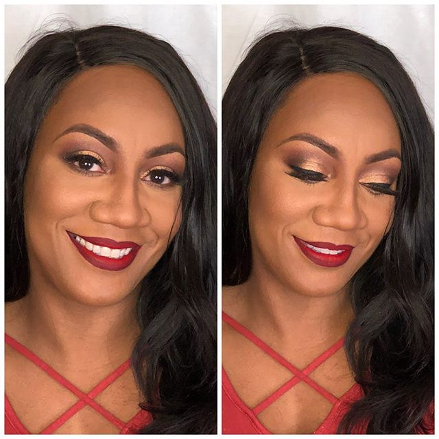 #Dark lip season. Thank _keyshabass for stopping by