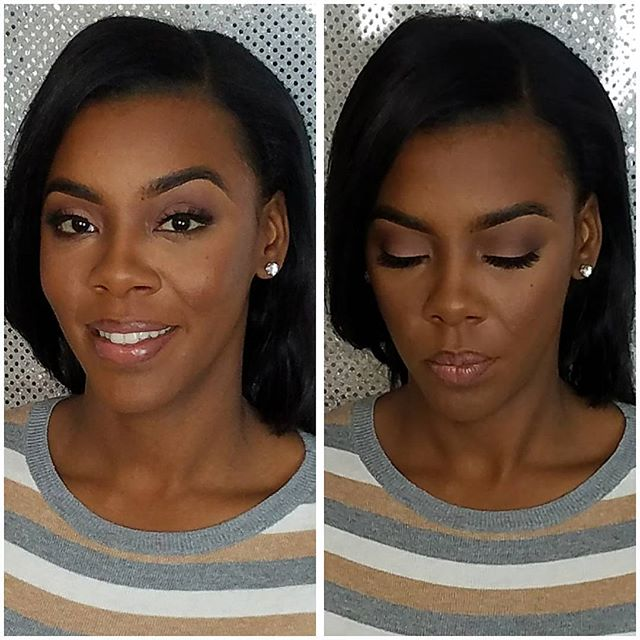 Are you wanting a soft natural look_ 💄look below for details....The beautiful  _shamadajohnson came