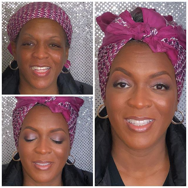 Thanks to my amazing future mother in law I had the pleasure of glamming the beautiful Yvonne for he