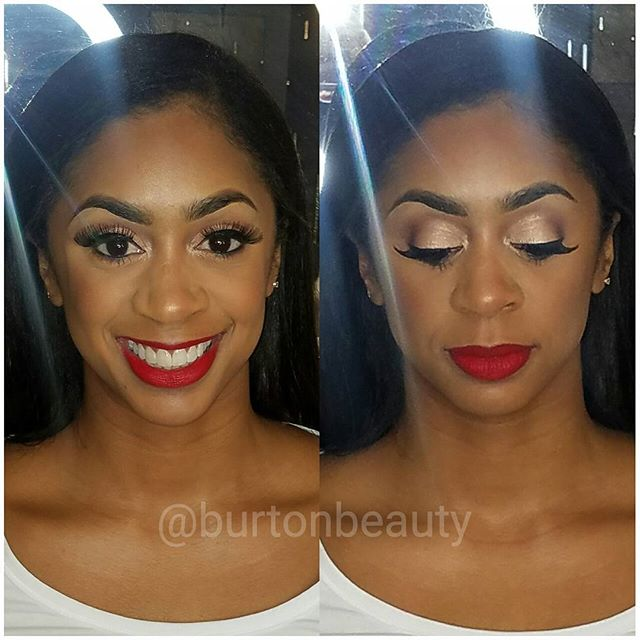 The lovely _lovely_lizzy85  came thru for some holiday glitz and glam. Tis the season to wear red li
