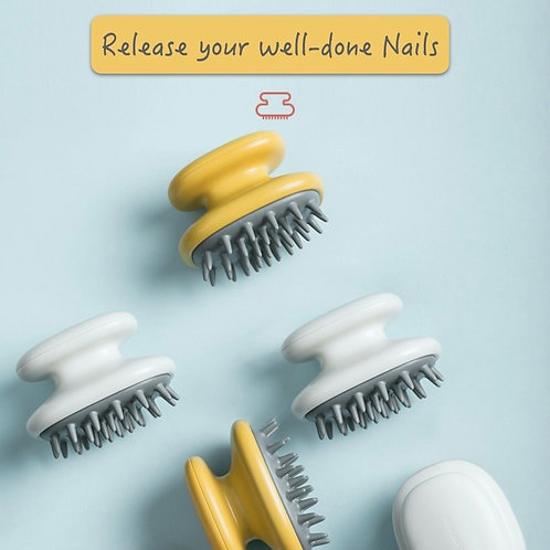 Comfii™ Shampoo Brush | Release your well-done nails