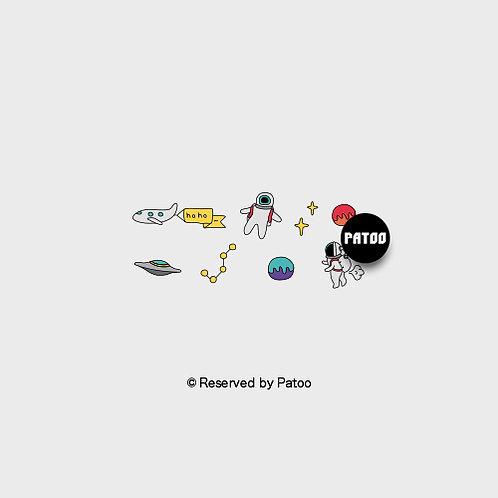 Astro-Life | Patoo™ Original Designed Temporary Tattoo