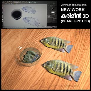 KARIMEEN 3D (PEARL SPOT) CREATED BY SANO