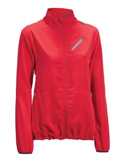 Women's run away jacket red
