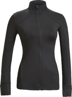 Women's Full Zip Training Jacket Black F