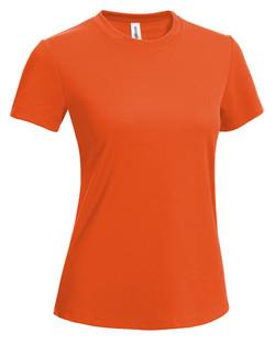 Women's Tee safety orange