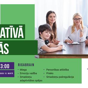 RigaBrain informatīvā tikšanās ONLINE