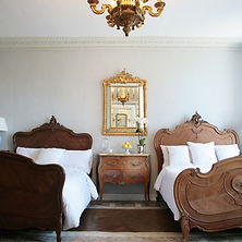 french manoir , french bedroom