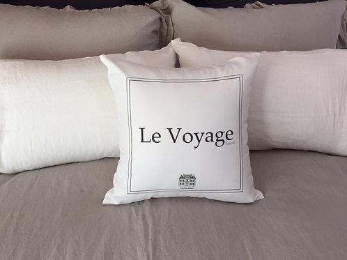 Cushion cover - Le voyage