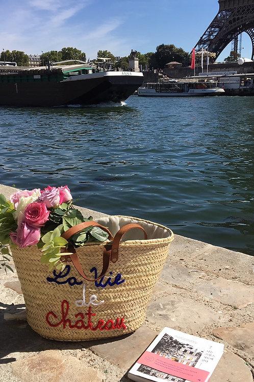 One of a Kind French Market Basket- 프렌치 마르쉐 가방