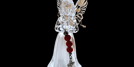 Angel Ornament with Light