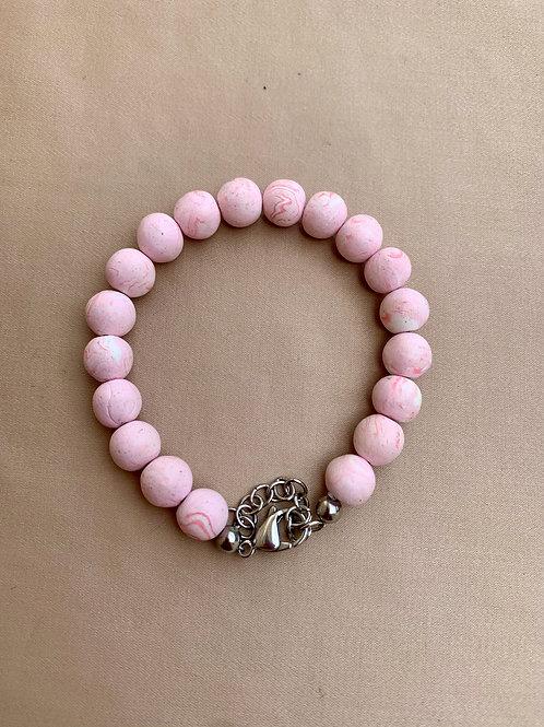 Flower Bead Bracelet
