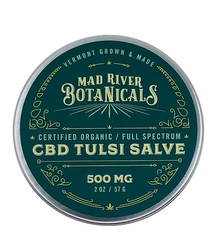 500mg CBD Tulsi Salve