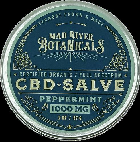 1000mg CBD Peppermint Salve