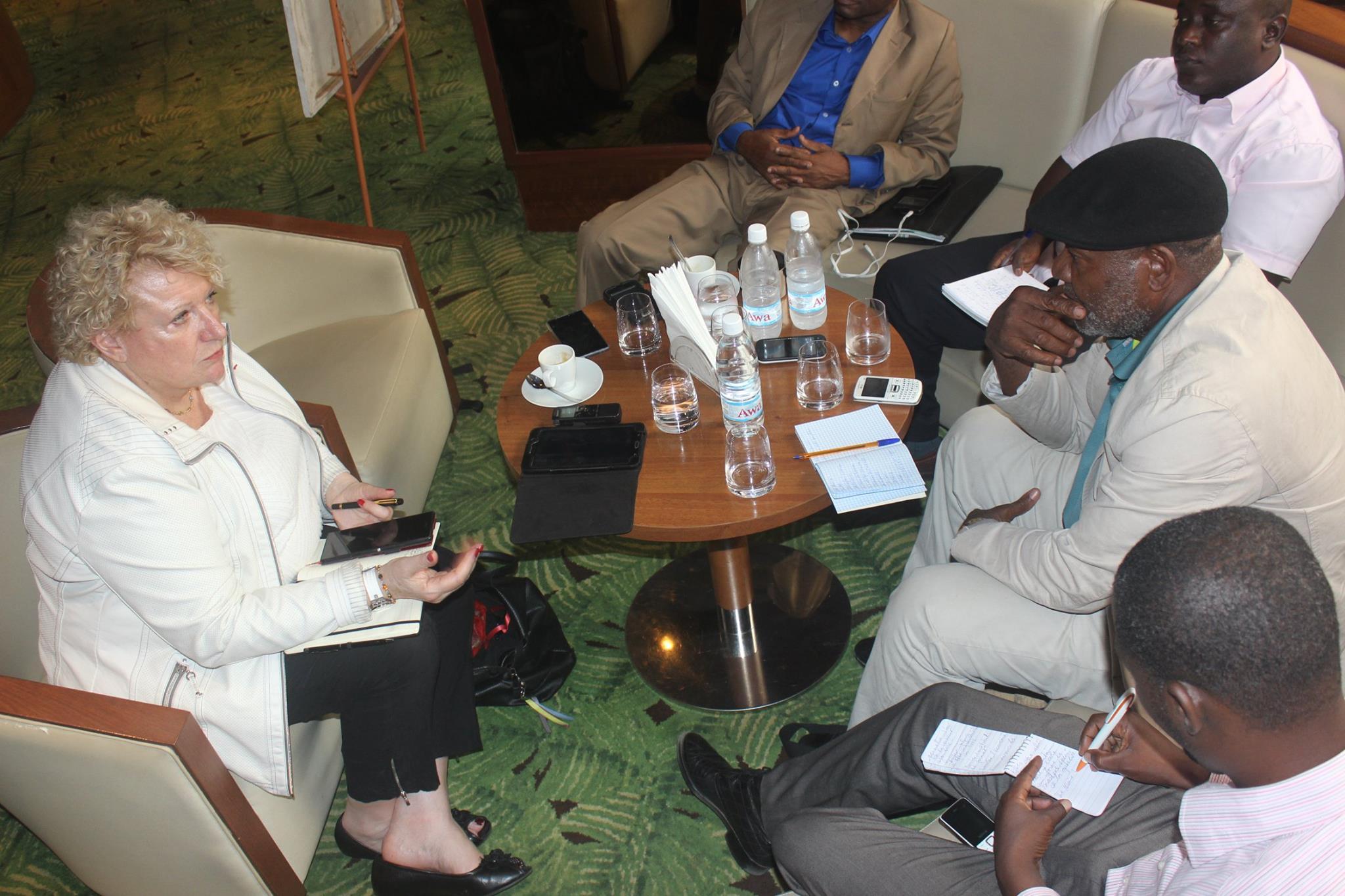 Conférence presse économique Abidjan