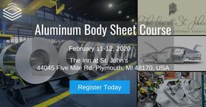 Automotive Aluminum Avisors' Aluminum Body Sheet Course
