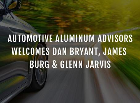 DISTINGUISHED TECHNOLOGY EXPERTS JOIN AUTOMOTIVE ALUMINUM ADVISORS
