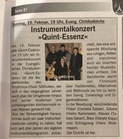 Marktblatt Prien Februar 17