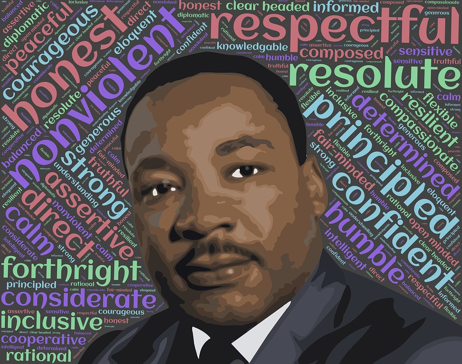 #CivilRights movement, #Dr.MartinLutherKingJr., In his famous #IHaveADream speech