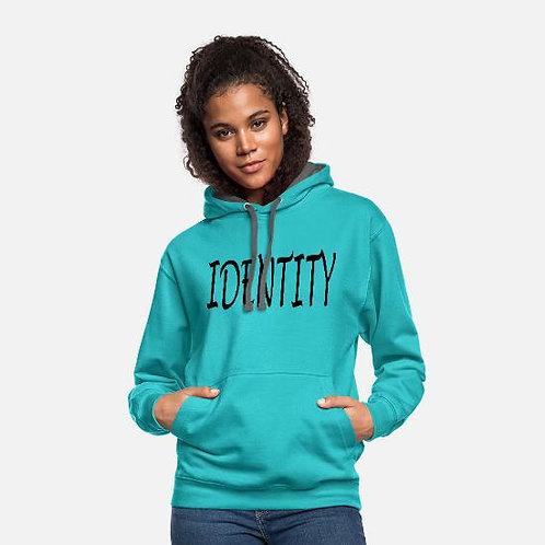 Unisex Two-Tone Identity Hoodie