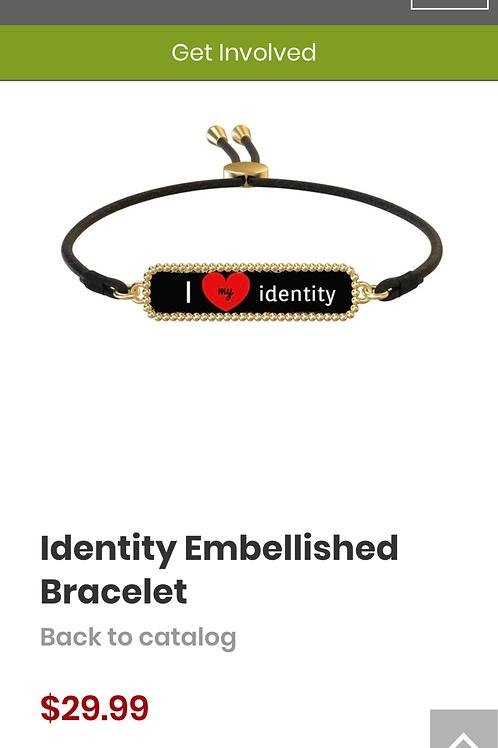 Identity Embellished Bracelet