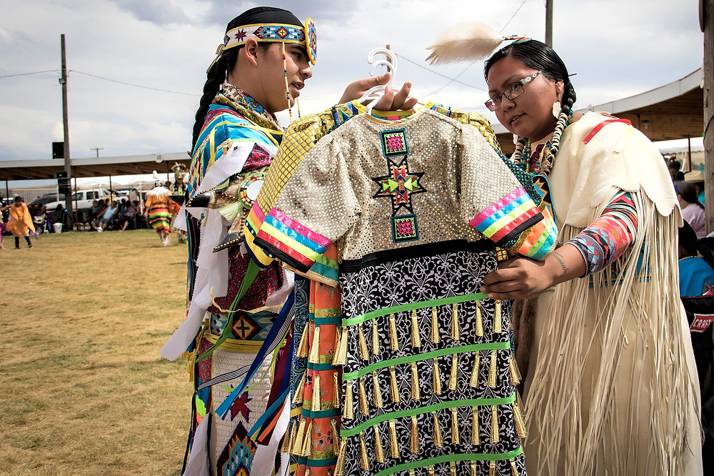 Check out the Native fashions of Jamie Okuma, hear Native music from Kahara Hodges, and learn from julianabrowneyesofficial's educational posts.