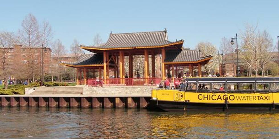 Chicago Riverwalk to Chinatown Boat Tour