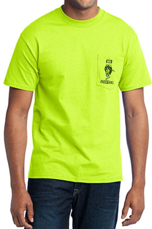 Safety Green Pocket T