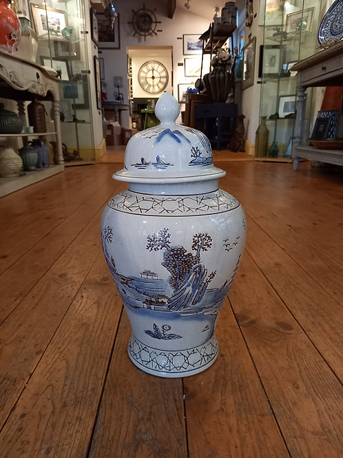 Oriental Style Ginger Jar