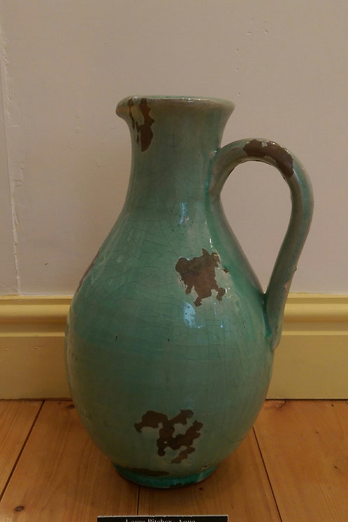 Large Pitcher- Aqua