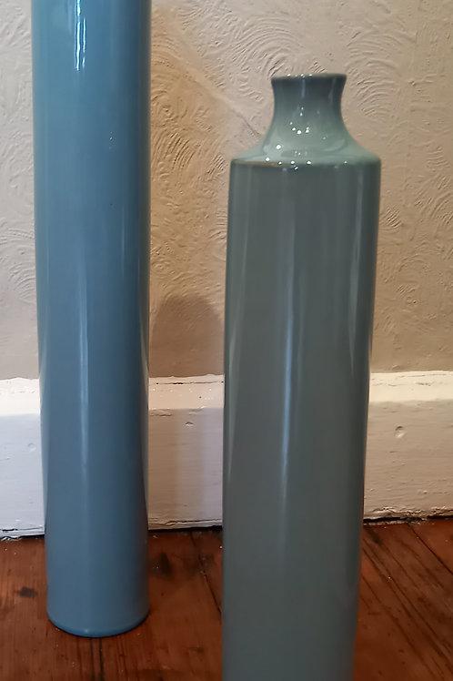 Blue Deco Vase