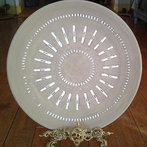 Round Platter-Casa Blanca