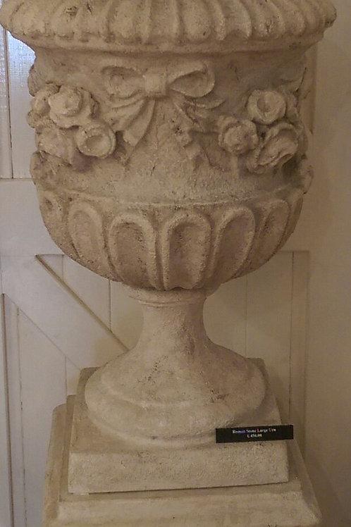 Roman Stone Large Urn