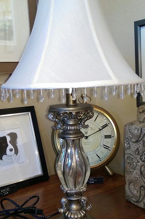 Clear Stem Lamp