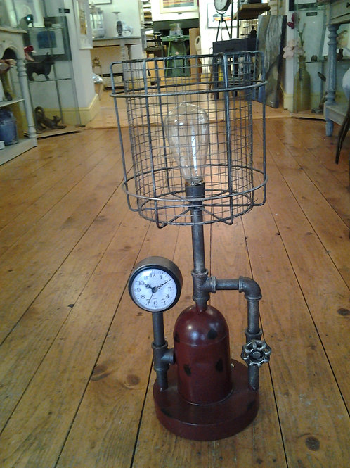 Industrial Light Clock