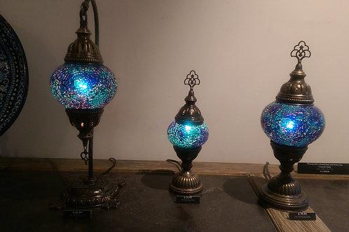 Blue Turkish Lamp