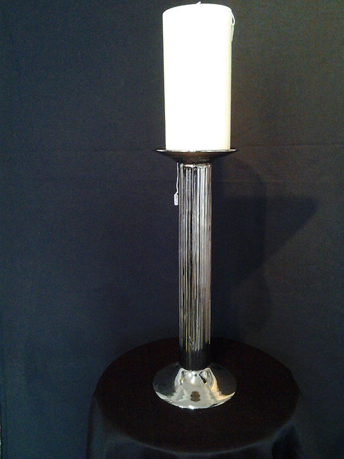 Large Candle Stick-Silver