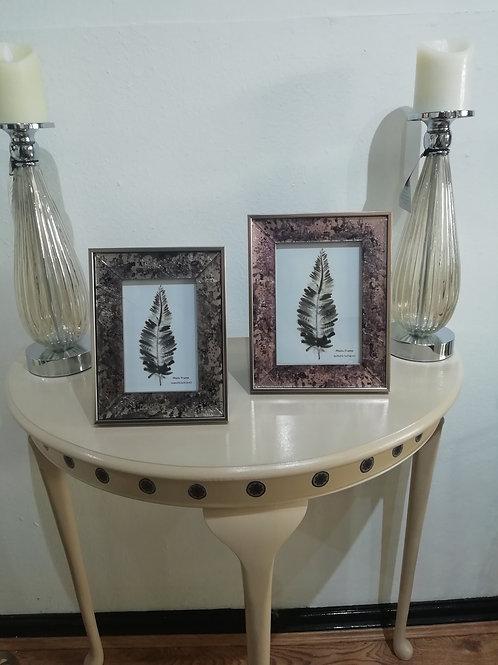 Metallic Foil Picture Frame