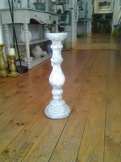 Birkdale Glazed Stone Candle Stick