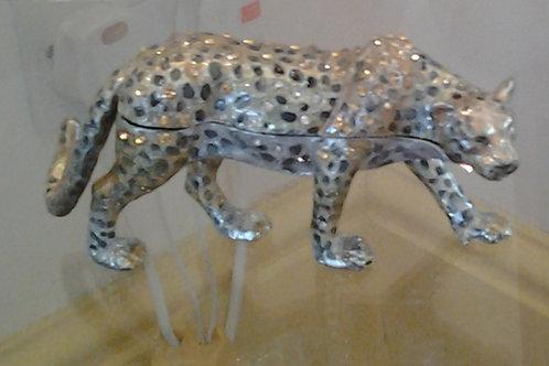 Leopard Jewelled Box