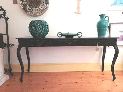 Bell Noir 3 Drawer Hall Table