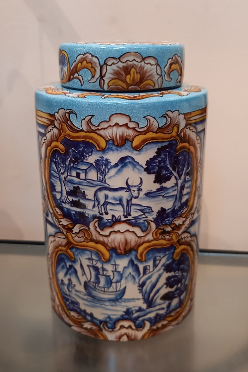 Medium Majolica Jar
