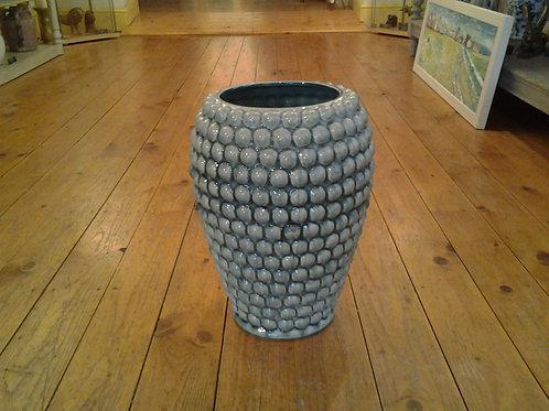 Blue Bobble Vase