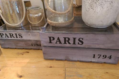 Paris Garden Crate